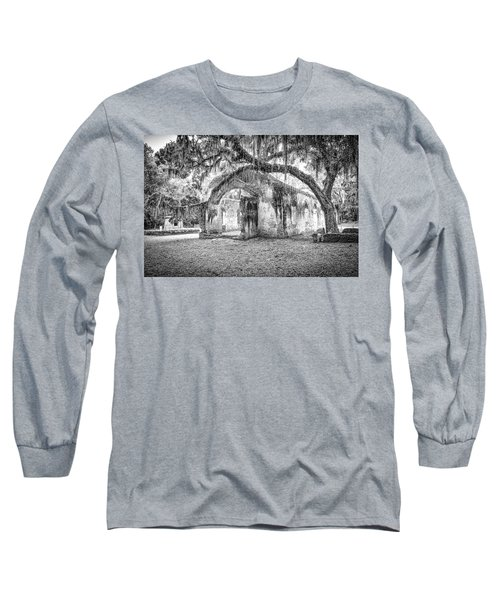 Old Tabby Church Long Sleeve T-Shirt