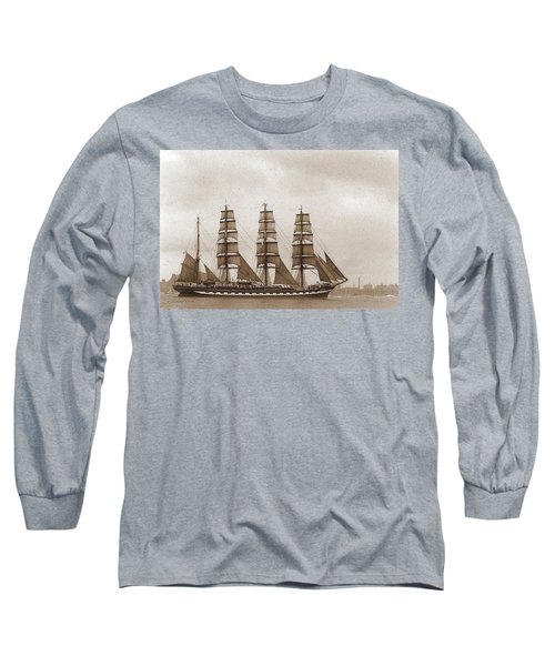 Old Time Schooner Long Sleeve T-Shirt
