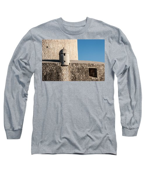 Long Sleeve T-Shirt featuring the photograph Old Town Dubrovnik by Silvia Bruno