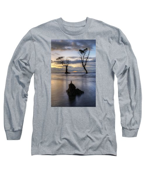 Old Trees Long Sleeve T-Shirt by Robert Charity
