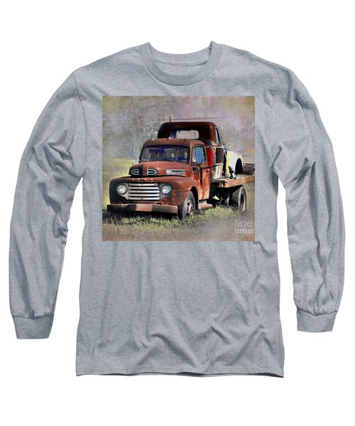Long Sleeve T-Shirt featuring the photograph Old Trucks by Savannah Gibbs