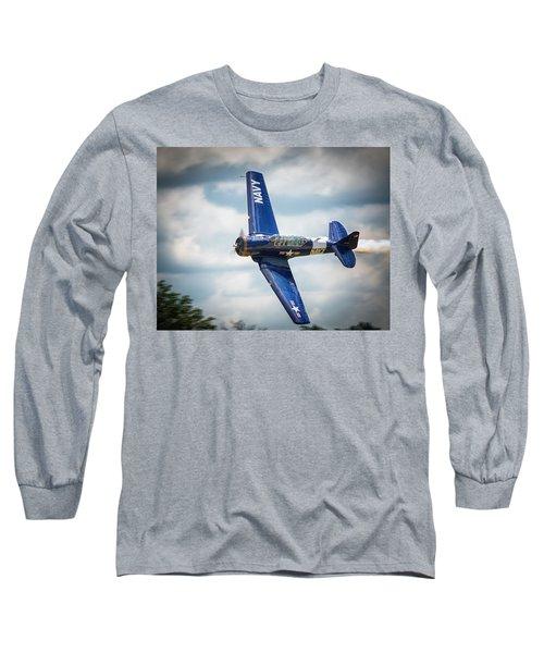 Old Warbird Trainer Long Sleeve T-Shirt
