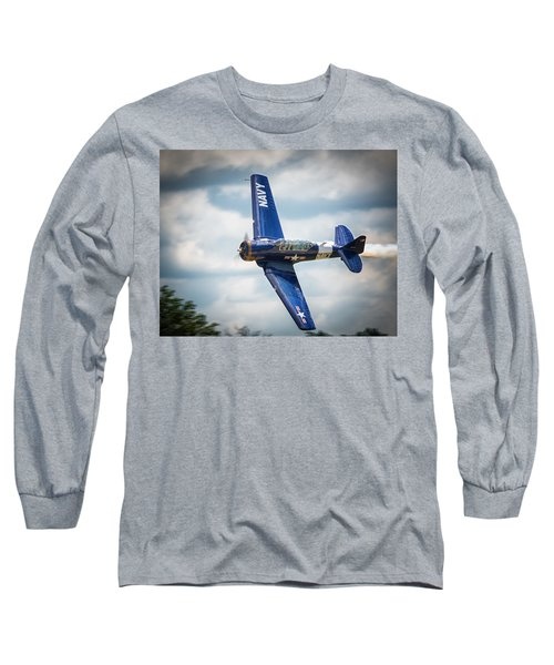Old Warbird Trainer Long Sleeve T-Shirt