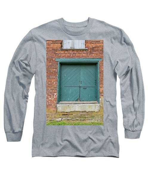 Old Warehouse Loading Door Long Sleeve T-Shirt