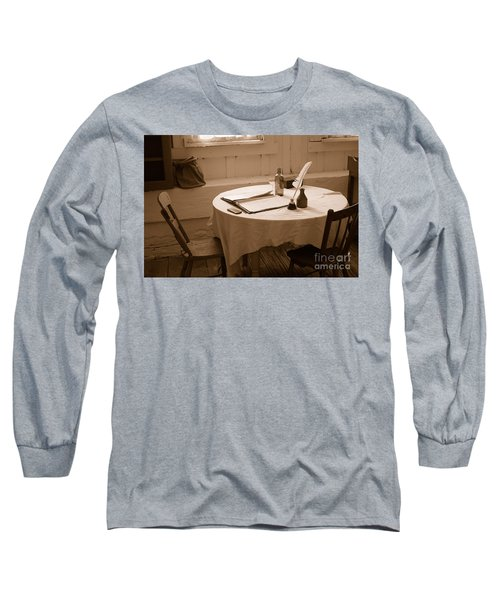 Old Way Of Life Series - Home Office Long Sleeve T-Shirt