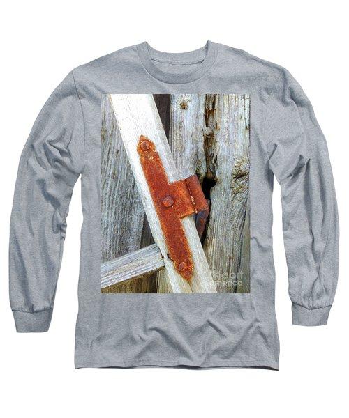 Old Window Long Sleeve T-Shirt