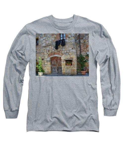 Old World Door Long Sleeve T-Shirt