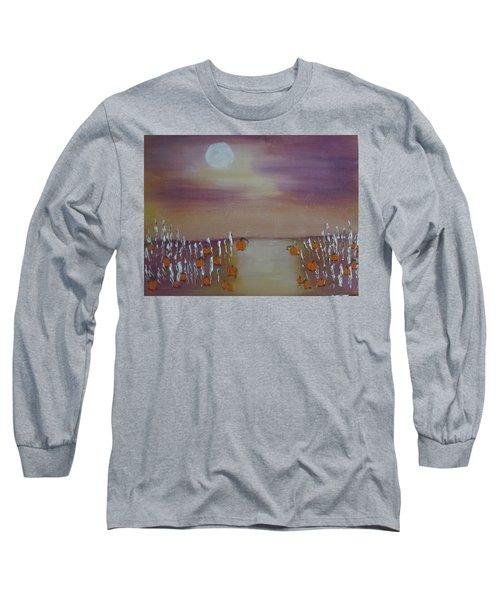 Olde Tyme Pumpkin Patch And Maze Long Sleeve T-Shirt