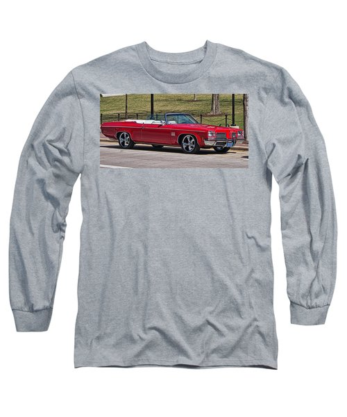 Oldsmobile Delta Royale 88 Red Convertible Long Sleeve T-Shirt