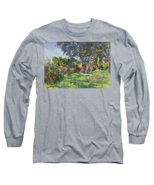 Olive Trees, Corfu Long Sleeve T-Shirt