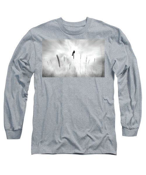 Long Sleeve T-Shirt featuring the photograph Omen by John Poon