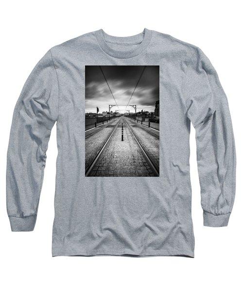 On A Gloomy Day Long Sleeve T-Shirt