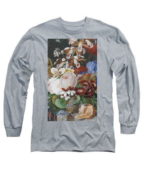 On A Marble Ledge   Detail Long Sleeve T-Shirt