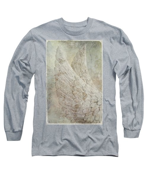 On Angels Wings 2 Long Sleeve T-Shirt