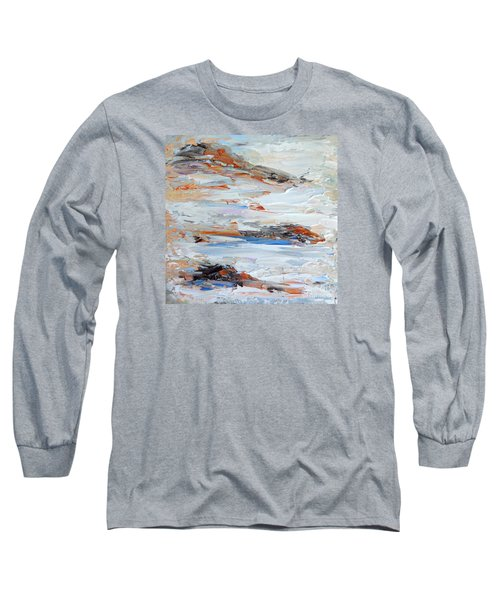 On Da Rocks Long Sleeve T-Shirt by Fred Wilson