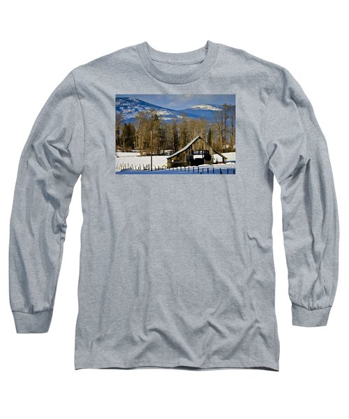 On Hold Long Sleeve T-Shirt by Albert Seger