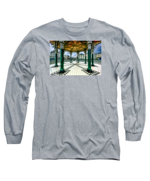 Long Sleeve T-Shirt featuring the photograph On The Bandstand by Chris Lord