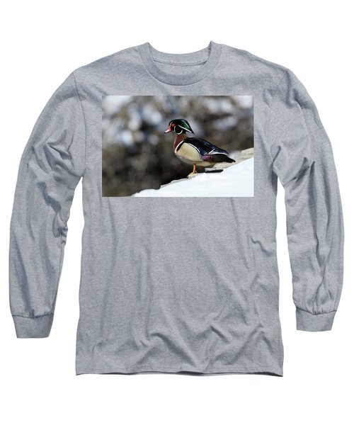 On The Brink Long Sleeve T-Shirt by Gary Hall