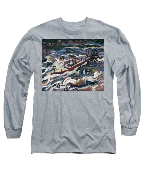 On The Brink Of Grande Chute Long Sleeve T-Shirt
