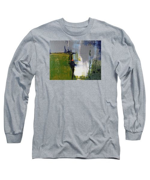 On The Edge Long Sleeve T-Shirt by Becky Chappell