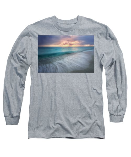On The Horizon  Long Sleeve T-Shirt by Nicki Frates