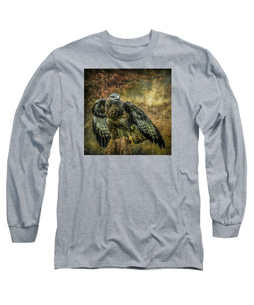 Long Sleeve T-Shirt featuring the photograph On The Lookout by Brian Tarr