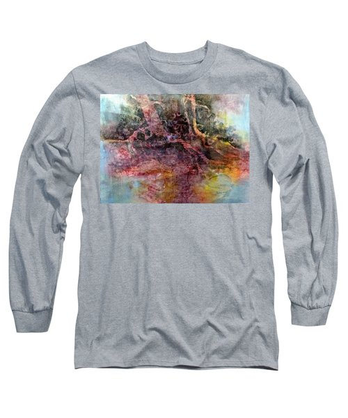 Long Sleeve T-Shirt featuring the painting On The Peninsula by Carolyn Rosenberger