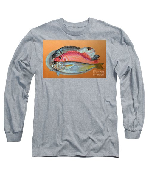 On The Platter Long Sleeve T-Shirt by Jasna Dragun