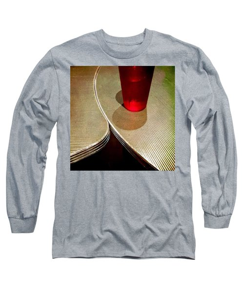 On The Right. #redglass #tables Long Sleeve T-Shirt