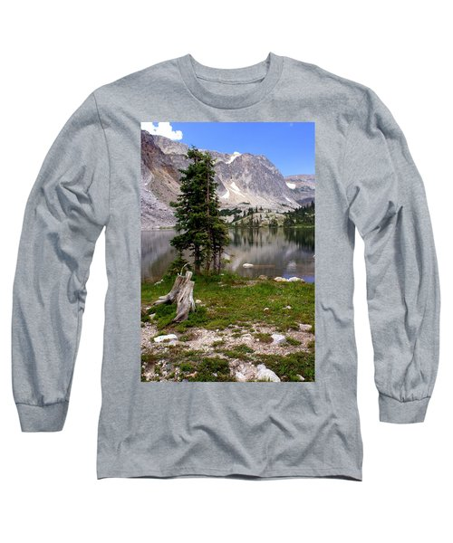 On The Snowy Mountain Loop Long Sleeve T-Shirt