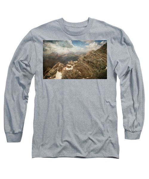 On The Top Of The Mountain  Long Sleeve T-Shirt