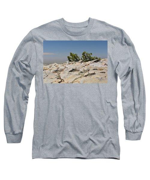 On Top Of Sandia Mountain Long Sleeve T-Shirt