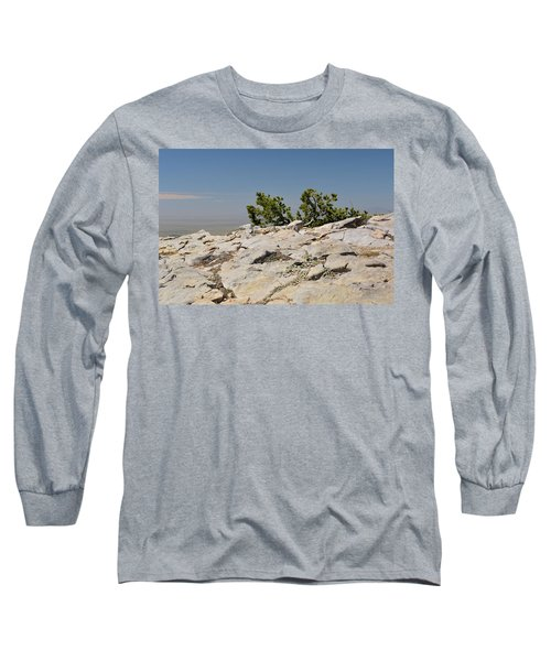 On Top Of Sandia Mountain Long Sleeve T-Shirt