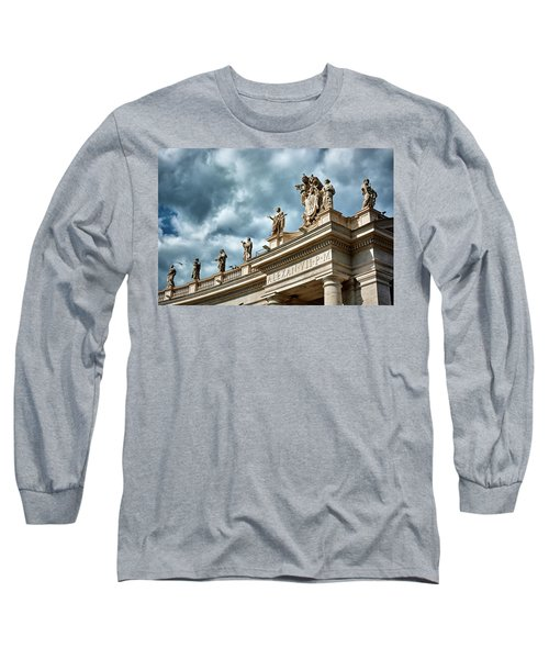 On Top Of The Tuscan Colonnades Long Sleeve T-Shirt