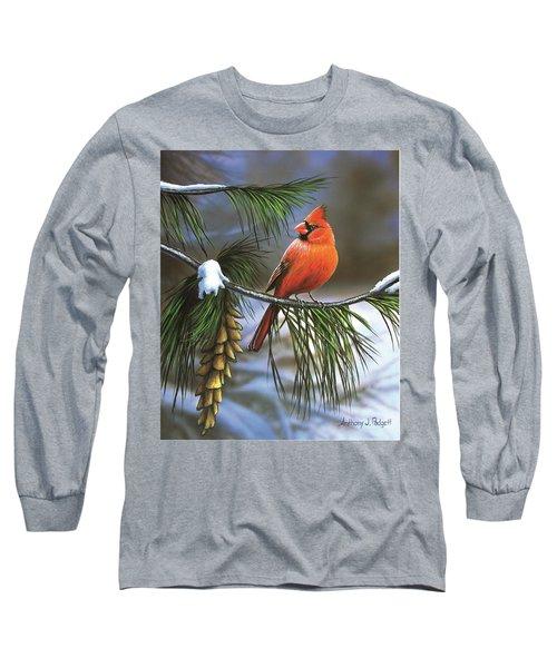 On Watch - Cardinal Long Sleeve T-Shirt