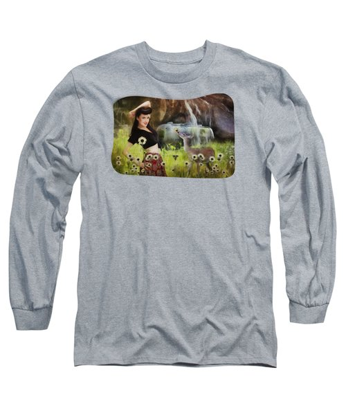 Once Upon A Meadow Long Sleeve T-Shirt