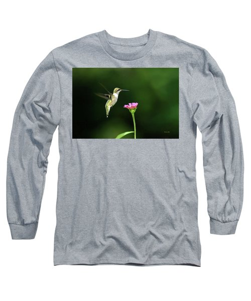 One Hummingbird Long Sleeve T-Shirt