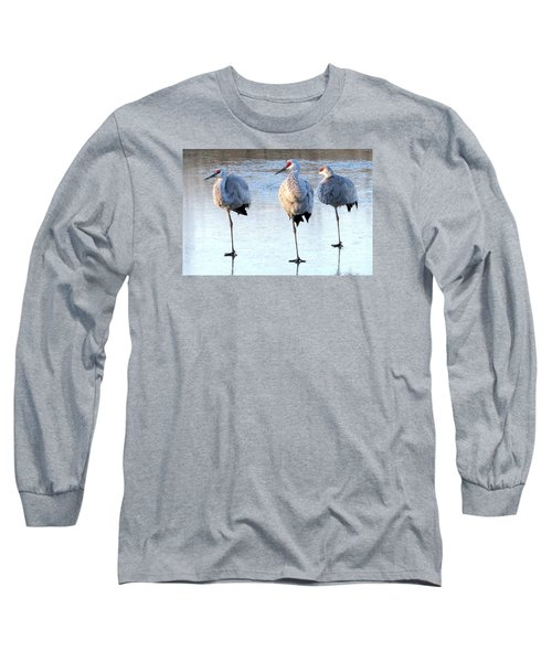 One Leg At A Time Long Sleeve T-Shirt