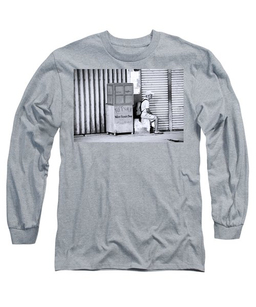 One Of 1000's Of Lonely Souls Long Sleeve T-Shirt by Jez C Self