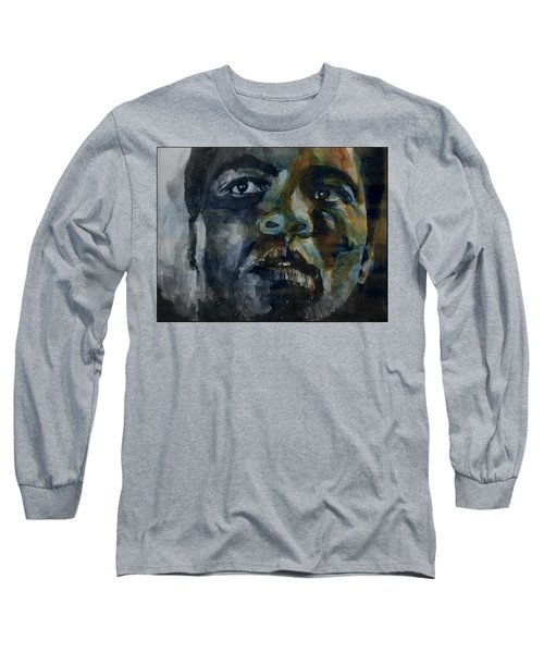 Long Sleeve T-Shirt featuring the painting One Of A Kind  by Paul Lovering