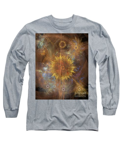 One Ring To Rule Them All Long Sleeve T-Shirt by John Robert Beck