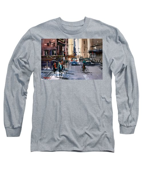 One Way Street - Chicago Long Sleeve T-Shirt
