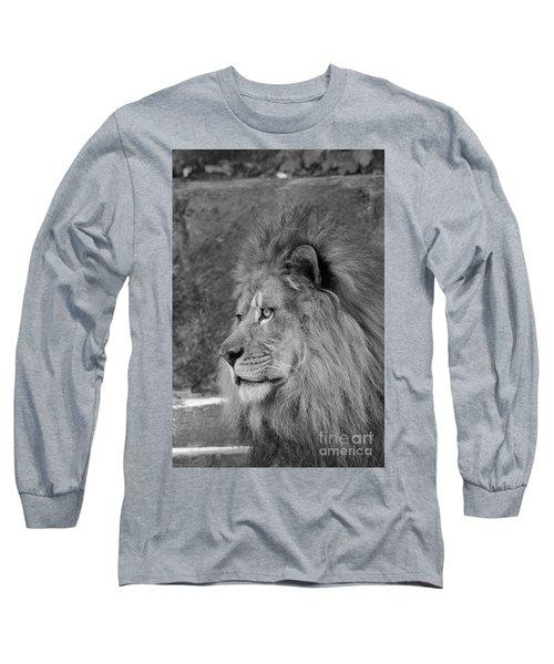 Onyo #20  Black And White Long Sleeve T-Shirt