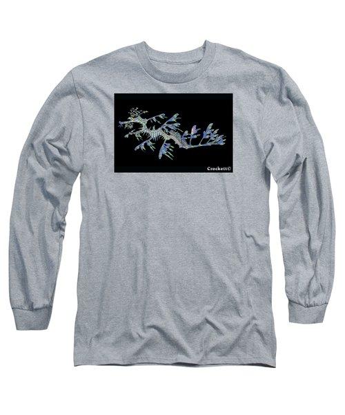 Opalised Sea Dragon Long Sleeve T-Shirt