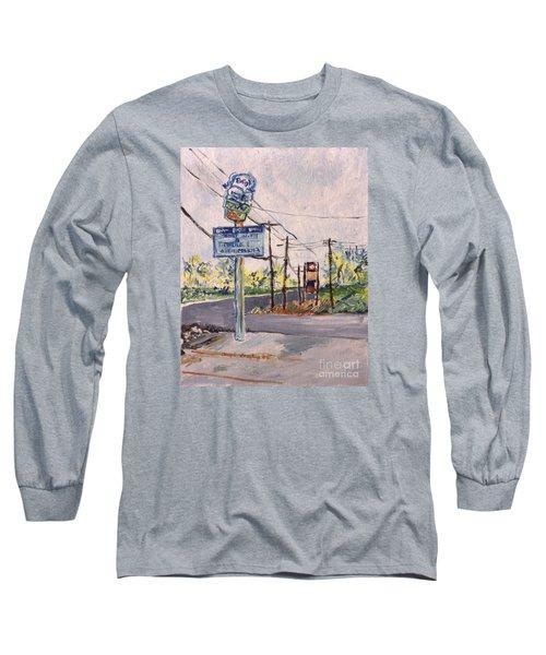 Open March 3 Long Sleeve T-Shirt by Joseph A Langley