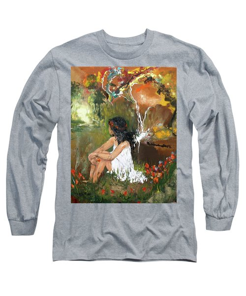 Open-minded Long Sleeve T-Shirt