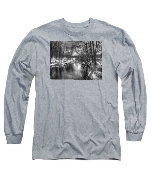 Long Sleeve T-Shirt featuring the photograph Open River by Betsy Zimmerli