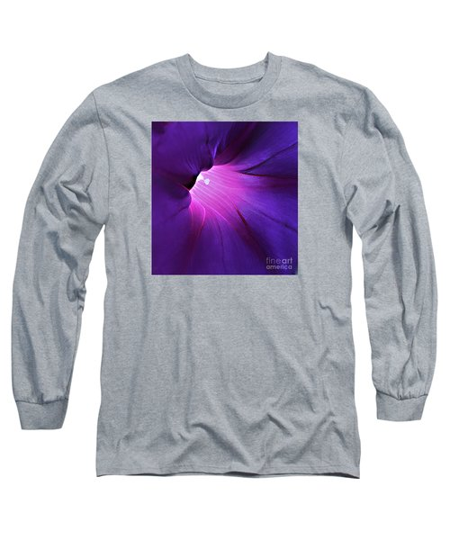 Opening One's Heart Long Sleeve T-Shirt by Sherry Hallemeier