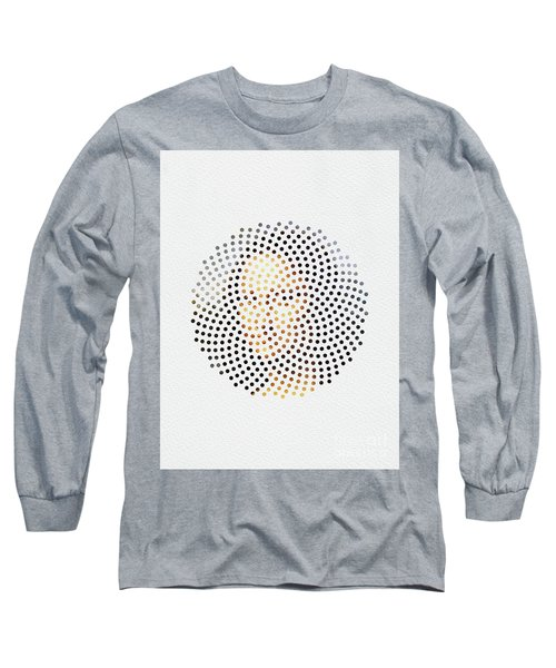Long Sleeve T-Shirt featuring the digital art Optical Illusions - Famous Work Of Art 1 by Klara Acel
