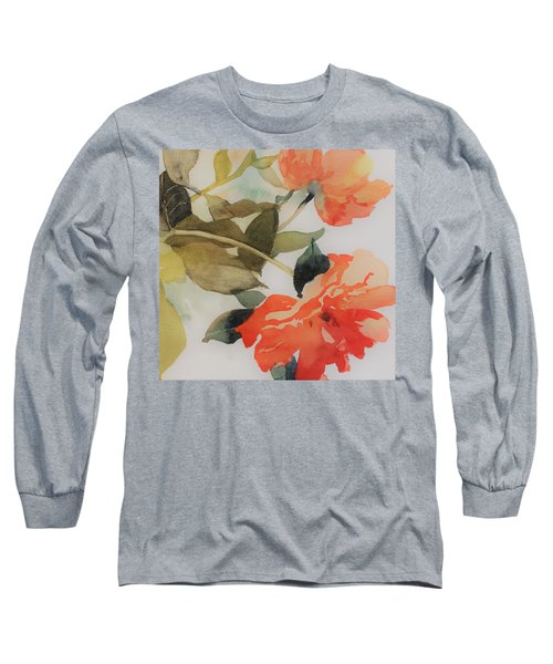 Orange Blossom Special Long Sleeve T-Shirt by Elizabeth Carr